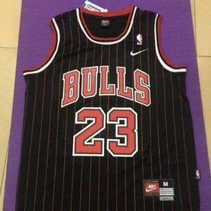 Chicago Bulls #23  Michael Jordan Stripe Jersey